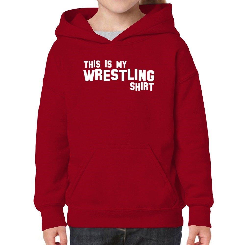 Teeburon This Is My Wrestling Shirt Girl Hoodie