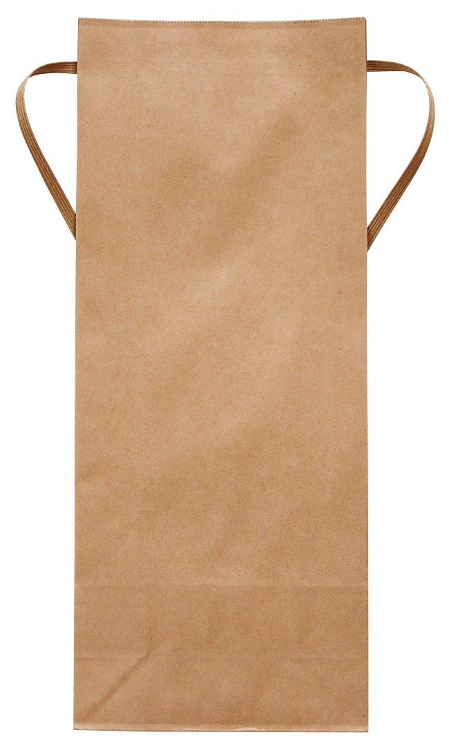 マルタカ クラフト 無地 窓なし 角底 2kg用紐付米袋 1ケース(300枚入) KH-0800 B077GK37GZ 2kg用米袋|1ケース(300枚入) 1ケース(300枚入) 2kg用米袋