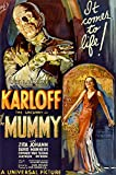 The Mummy Classic Horror Movie Poster - Boris Karloff Print