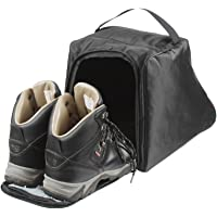 Case4Life Black Water Resistant Walking Hiking Boot Bag / Case - Lifetime Warranty