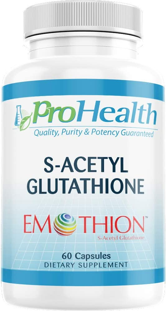 ProHealth S-Acetyl Glutathione (Emothion™) (300 mg - 60 Capsules)
