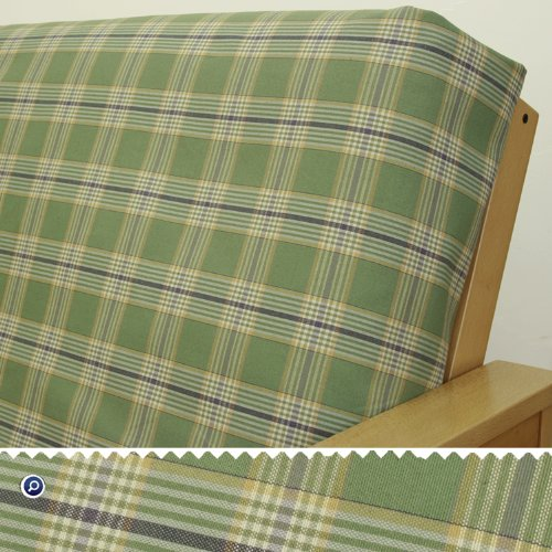 - Woodland Green Plaid Fitted Mattress Cover Full 7