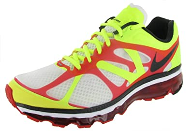 buy popular d2990 402c8 Image Unavailable. Image not available for. Color  Nike Air Max+ 2012 Mens  Running Shoes 487982-103 White ...