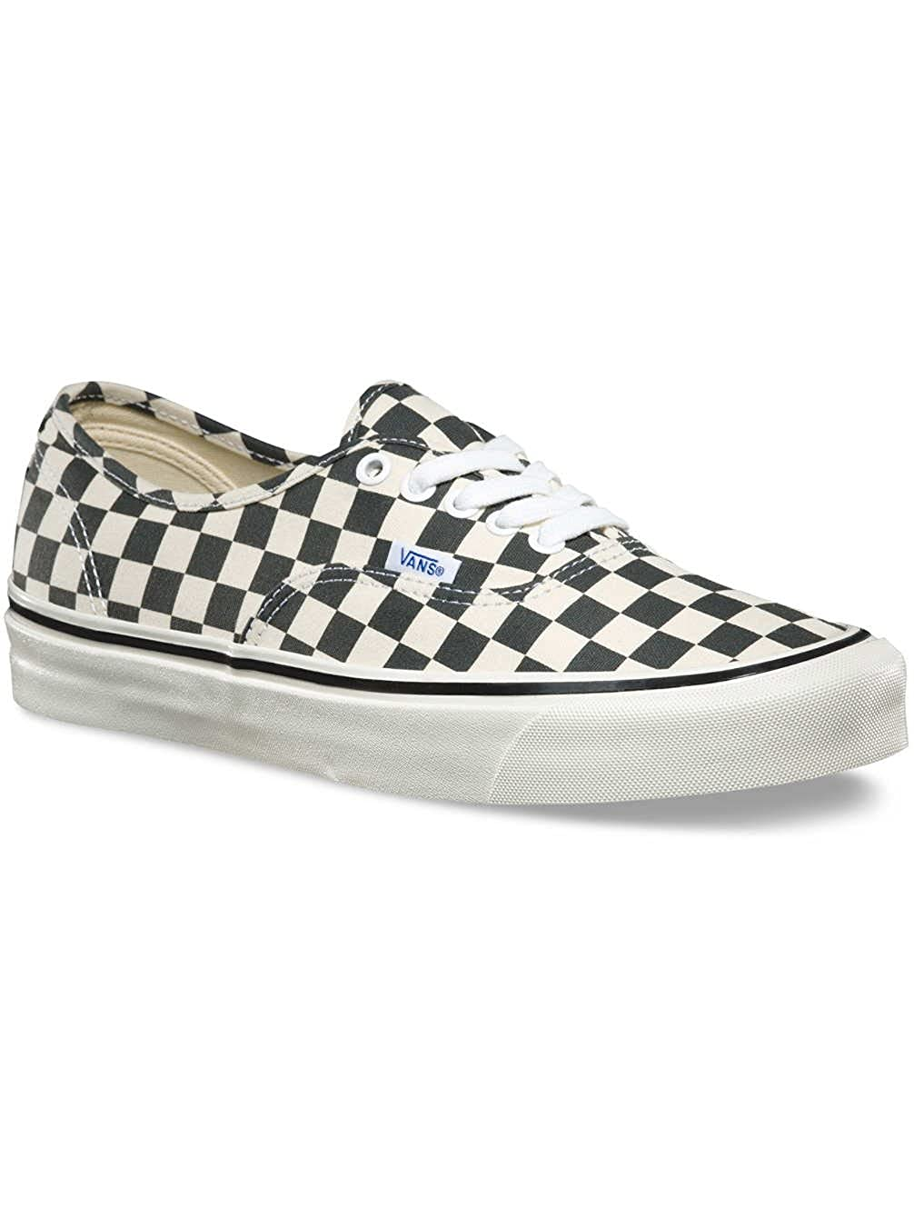 Vans Authentic 44 DX (Anaheim Factory) Sneakers Black Check Size 4 Men 5.5  Women  Buy Online at Low Prices in India - Amazon.in 20d060880