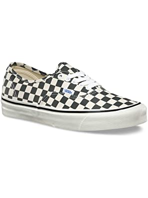 afc7371745dd6a Vans Authentic 44 DX (Anaheim Factory) Sneakers Black Check Size 4 Men 5.5  Women  Buy Online at Low Prices in India - Amazon.in