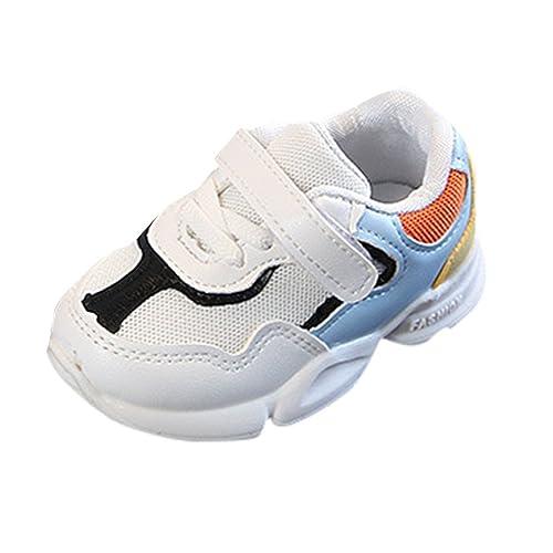 Familizo Zapatillas Bebé Niños niñas Colores Mezclados Zapatillas Deportivas de Estilo Deportivo para Correr Zapatos Bebe Niña Tenis: Amazon.es: Zapatos y ...
