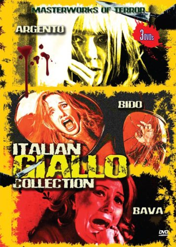 Italian Giallo Collection: Blood & Black Lace, Bird With A Crystal Plumage and Watch Me When I Kill by VCI Entertainment