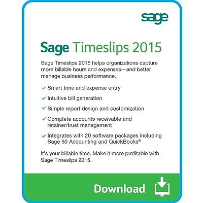Sage Timeslips 2015 - 5 User [Download]