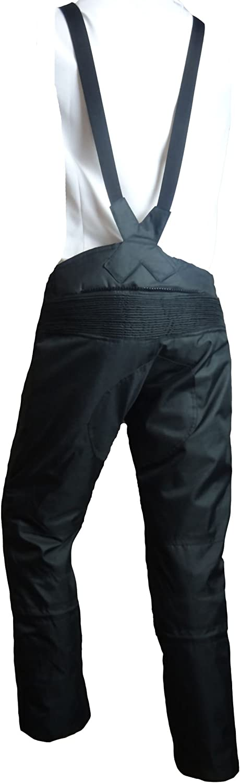 Ledershop-online Bangla Cordura Motorrad und Tourenhose f/ür Kinder schwarz 128-176
