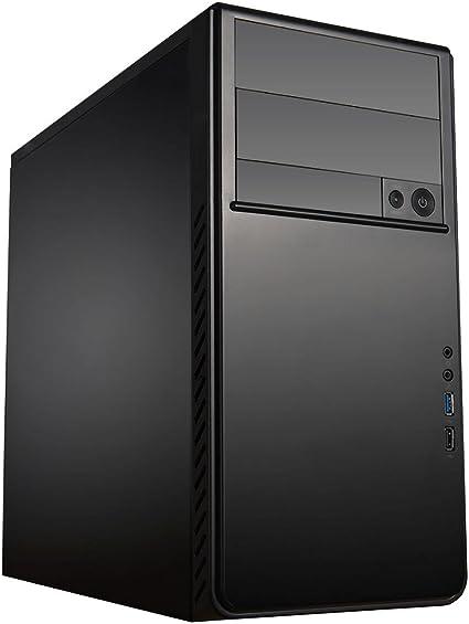 ACE Ecco 250 – Caja Micro-ATX Caso – Negro: Amazon.es: Informática