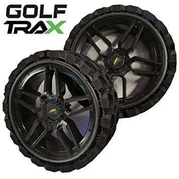 GOLFTRAX WINTER GOLF TROLLEY WHEELS/TYRES FITS MOTOCADDY ELECTRIC
