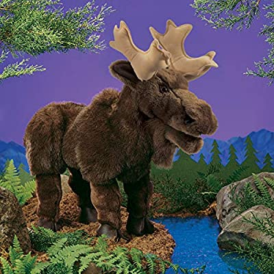 Folkmanis Moose Hand Puppet: Toys & Games