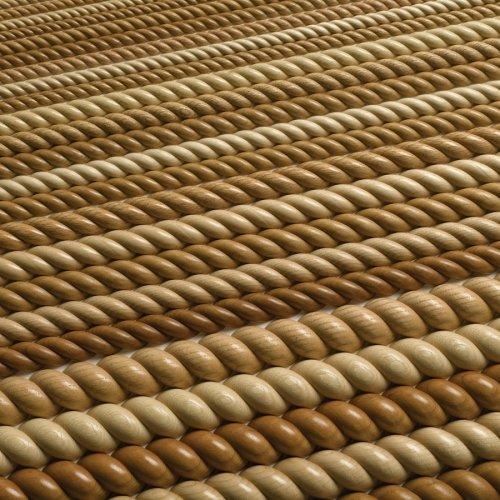 - Split Rope Molding 8' Alder-4/Box
