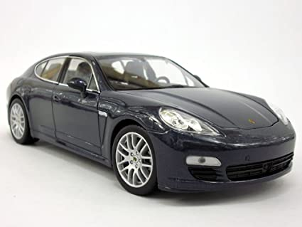 Porsche Panamera S 1/24 Scale Diecast Metal Model - DARK BLUE