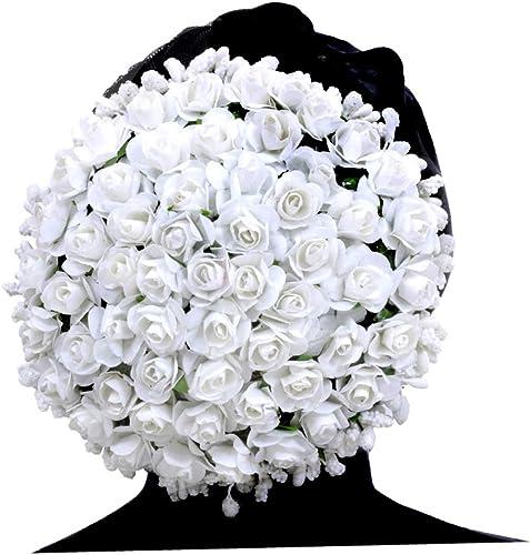 Indian Women Artificial Bridal Hair Accessories Gajra Bun Juda Veni Wedding Gift