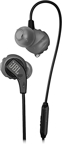 JBL Endurance Run, in-Ear Sport Headphone with One-Button Mic Remote – Black