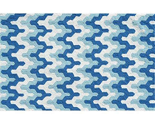 Multicolor Surge Blue The Rug Market 71150B Handmade Rugs