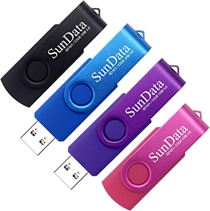 Sundata 32gb Usb Stick 4 Stück Usb Flash Laufwerke Usb Computer Zubehör