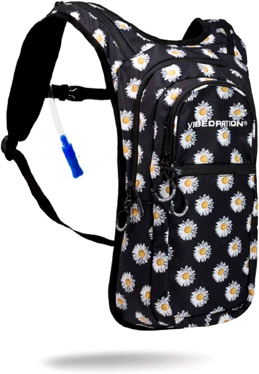 Vibedration VIP 2 Liter Hydration Pack Backpack