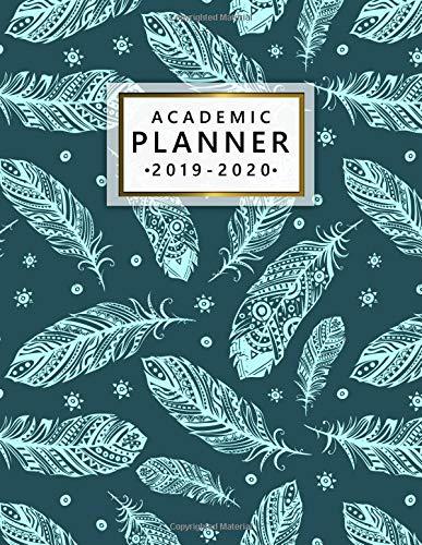 Amazon.com: Academic Planner 2019-2020: Weekly & Monthly ...