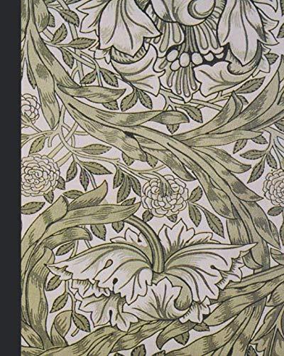 - Vintage illustration journal: Unique designed dot grid Journal for the vintage illustration lover - Arts and craft movement - William Morris - Vintage african marigold