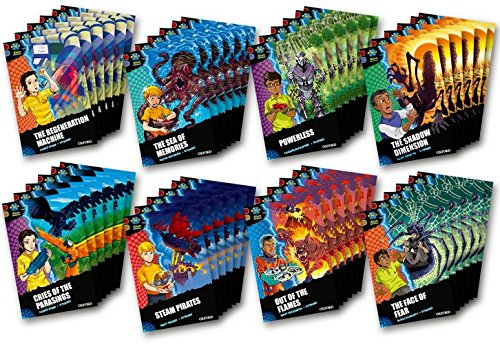 Project X Alien Adventures: Dark Red Book Band, Oxford Levels 17-18: Dark Red Book Band, Class Pack of 48 PDF