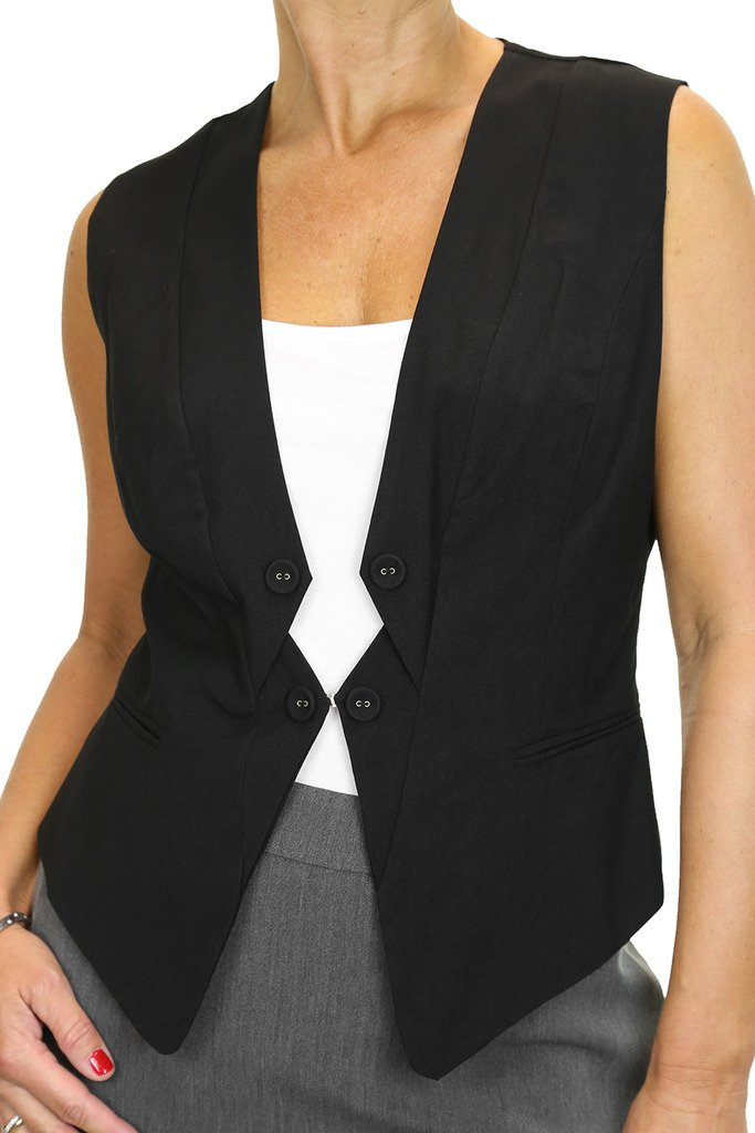 ICE (5135) Smart Waistcoat Ladies Clubbing Office