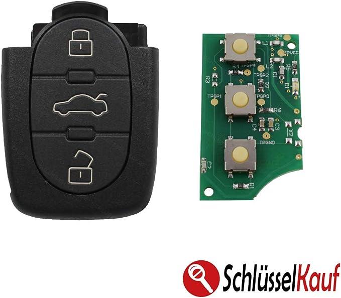 Konikon Sender Auto Schlüssel 433 92 Mhz 4d0837231n 3 Elektronik