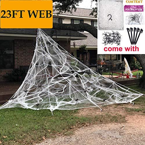 (Camlinbo Hallowen Spider Web (23FT)