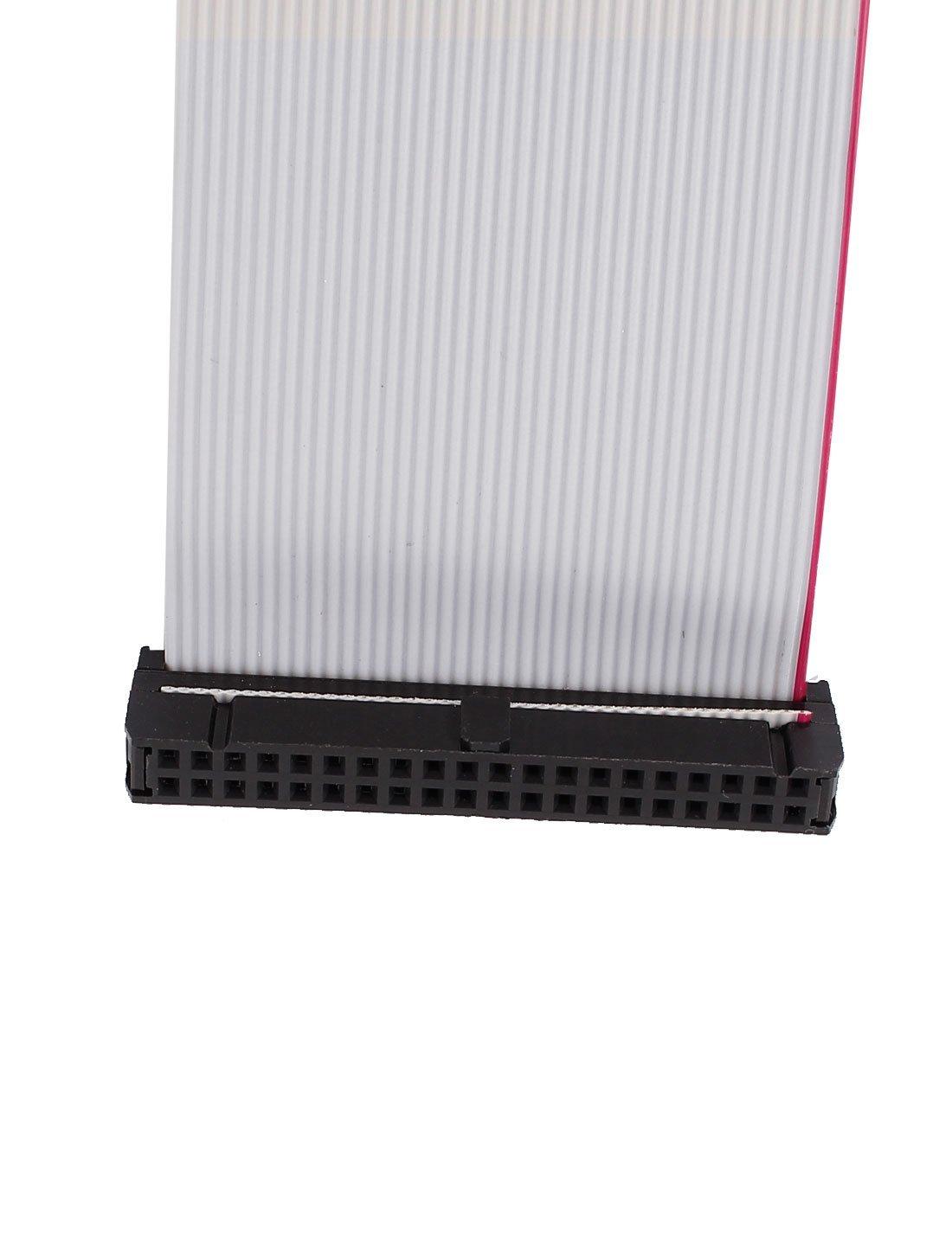 Amazon.com: eDealMax 2pcs 2.54mm 40-pin hembra a hembra IDE PATA de la Cinta del Cable Plano DE 20 cm: Electronics