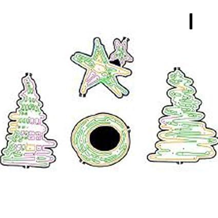 DFLY - Molde para árbol de Navidad (1 Unidad), diseño de Navidad