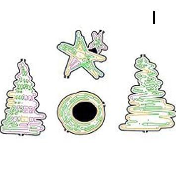 DFLY - Molde para árbol de Navidad (1 Unidad), diseño de Navidad: Amazon.es: Hogar
