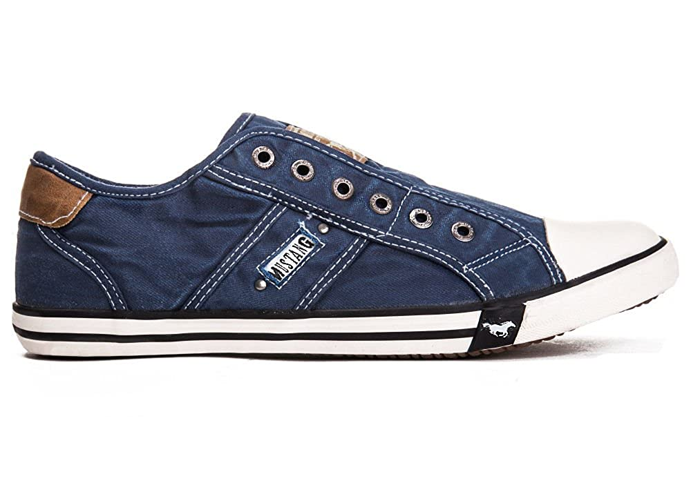 Mustang schuhe Herren Schuhe Schuhe Schuhe Turnschuhe jeansblau da76a3