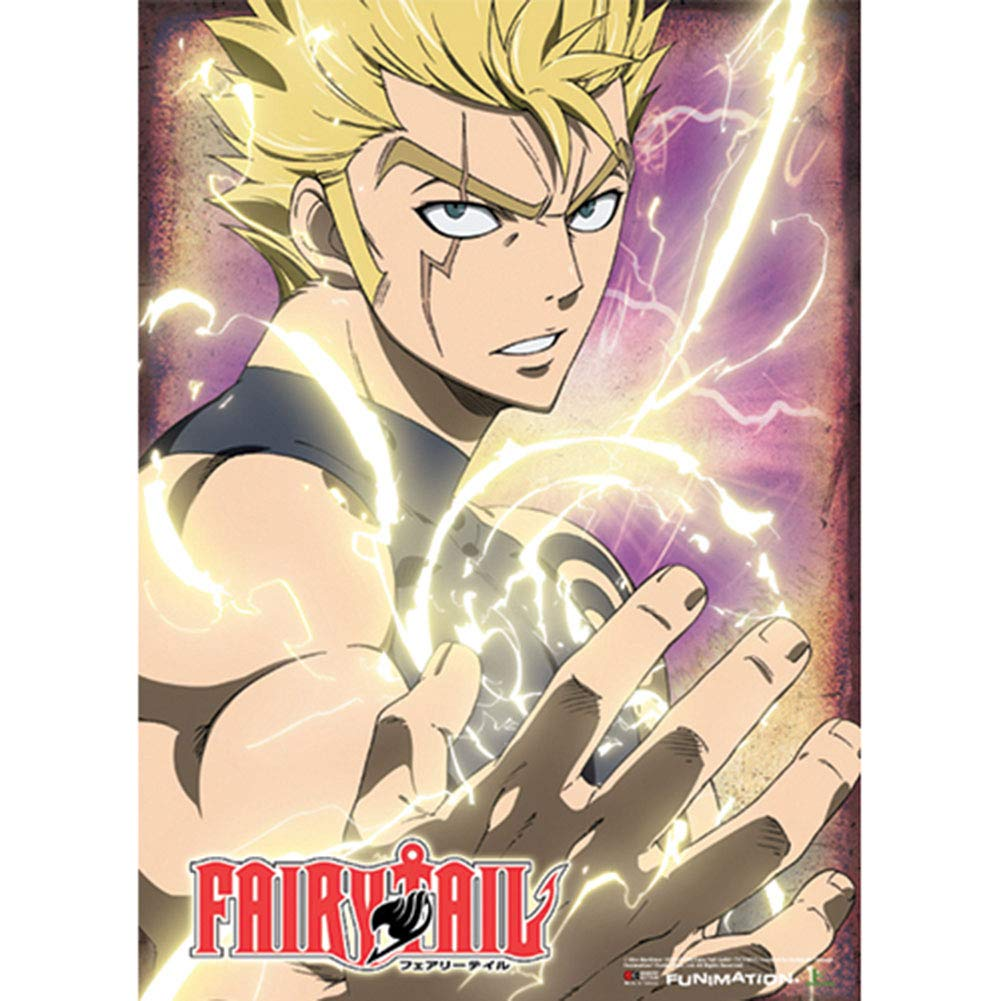 2f21036889 Amazon.com  Officially Licensed Fairy Tail  Laxus Wall Scroll