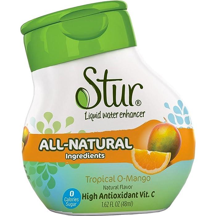 STUR Water Enhancer Liquid Orange Mango, 1.4 oz