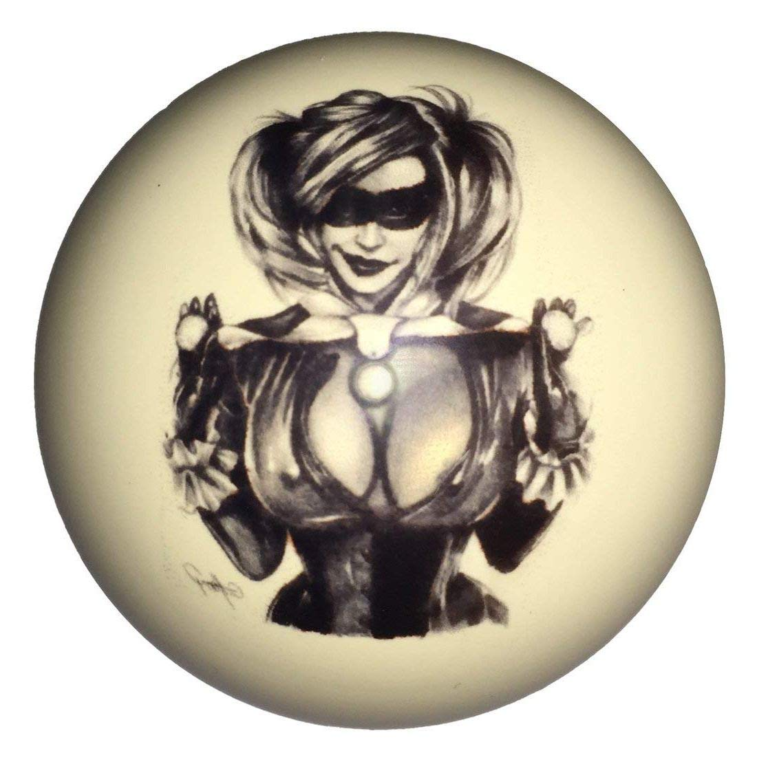 Aromzen Juggling Girl Cue Ball Custom