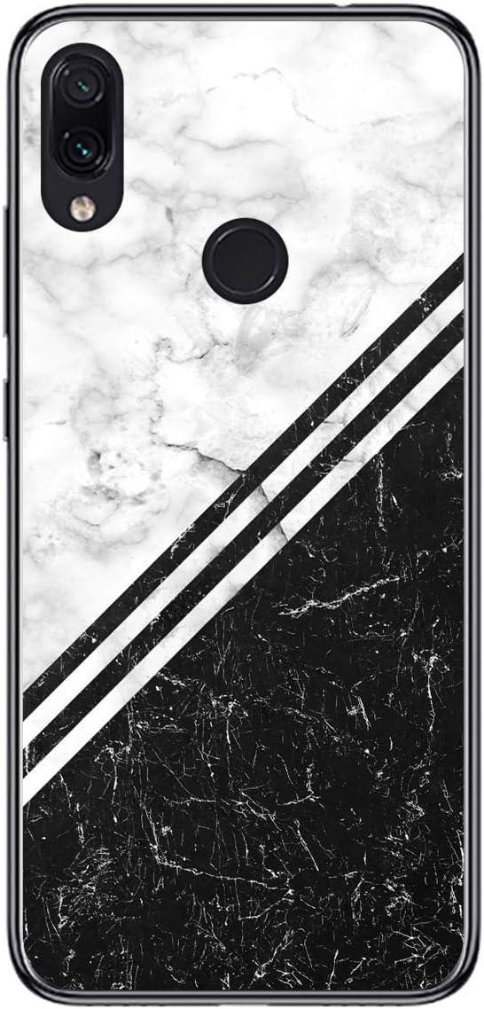 Funda Gel TPU para Xiaomi Redmi Note 7 diseño Mármol 01 Dibujos