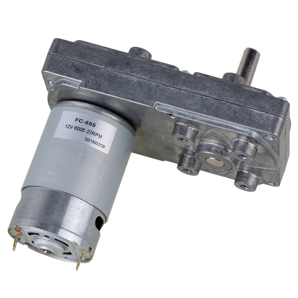 CNBTR 27RPM Square High Torque Speed Reduce 12V Electric DC Gear Motor with Metal Geared Box yqltd VDTAZ012