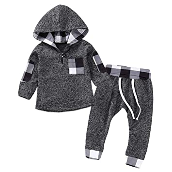 L-baby Ropa para niños otoño Invierno Bebé Niñas Ropa Conjunto ...