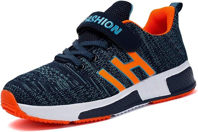 Goalsse Basket Enfants Garçon Chaussure de Sport Antidérapantes Chaussures de Running Respirantes Sneakers pour Enfant Garçon Fille 26 37