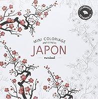 Mini coloriage antistress «Japon» par  Marabout