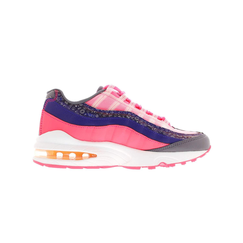 size 40 8f7c7 5bed9 Nike Air Max 95 GS Kids Regency Purple/Racer Pink/Sail/Laser Orange  CI9933-500