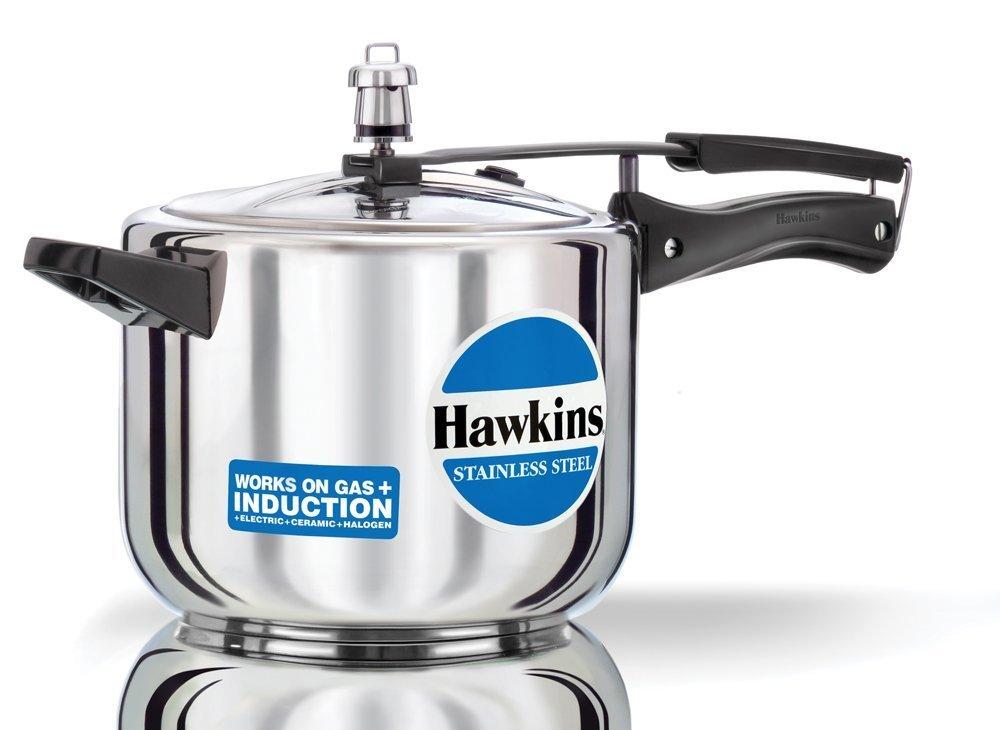 Hawkins B30 Pressure cooker 5 Liter Silver