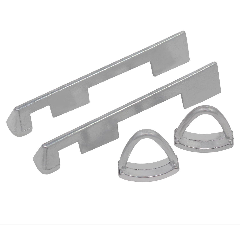 BE-TOOL acero inoxidable, hierro, cobre, lat/ón, aluminio, fibra de vidrio, formica Cortador de sierra perforadora