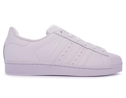 Adidas Superstar Foundation unisex adulto, pelle liscia, sneaker bassa