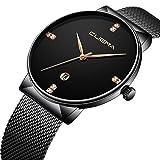 Men's Ultra Thin Analog Quartz Watch - Fashion