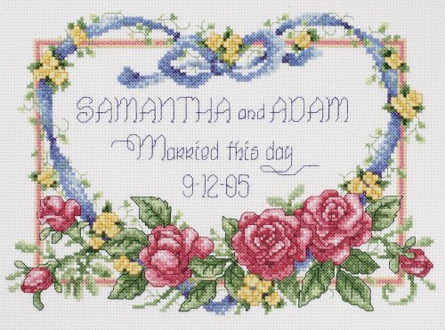 Janlynn 056-0193 Cross Stitch Kit, 8-Inch by 10-Inch, Marrie
