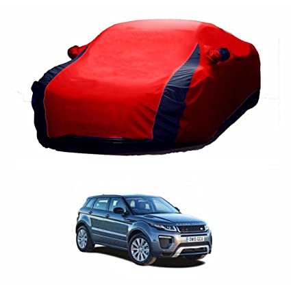 MotRoX Lively Water Resistant Car Body Cover For Land Rover Evoque (Red U0026  Blue
