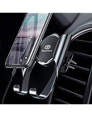 Handyhalter fürs Auto Handyhalterung Auto Lüftung Universale Handy KFZ Halterungen mit Automatische Erinnerungsfunktion für iPhone XS/X/8/7/6 Plus Samsung Galaxy S10/S10+/ S9/S8/S7 Huawei Mate 20 Pro