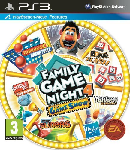 Hasbro Family Game Night 4: The Game Show Edition (PS3) (UK IMPORT) (Hasbro Family Game Night 3 compare prices)